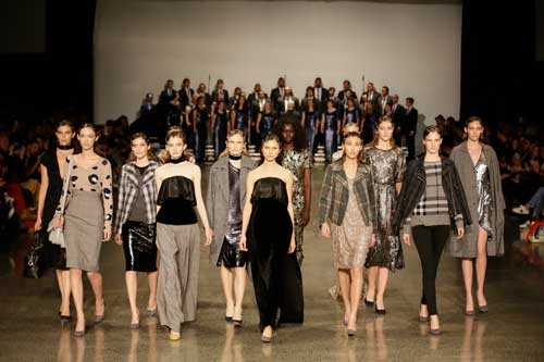 The Choir and the Hailwood NZ Fashion Week Show